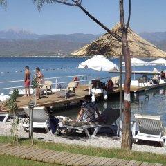 Alesta Yacht Hotel Турция, Фетхие - отзывы, цены и фото номеров - забронировать отель Alesta Yacht Hotel онлайн пляж
