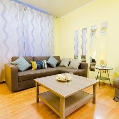 Апартаменты Lakshmi Apartment Krasnye Vorota комната для гостей фото 4