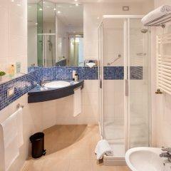 Отель Idea Hotel Milano San Siro Италия, Милан - 9 отзывов об отеле, цены и фото номеров - забронировать отель Idea Hotel Milano San Siro онлайн ванная фото 2