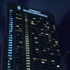Отель Intercontinental Presidente Mexico City Мехико вид на фасад