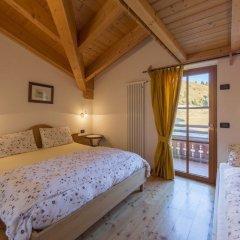 Отель Rifugio Baita Cuz Долина Валь-ди-Фасса комната для гостей фото 4