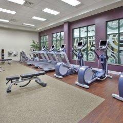 Отель Embassy Suites Columbus-Airport Колумбус фитнесс-зал фото 3