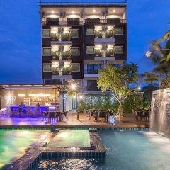 Отель River Front Krabi Hotel Таиланд, Краби - отзывы, цены и фото номеров - забронировать отель River Front Krabi Hotel онлайн вид на фасад