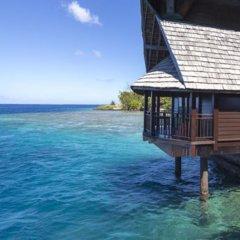 Отель Oa Oa Lodge Французская Полинезия, Бора-Бора - отзывы, цены и фото номеров - забронировать отель Oa Oa Lodge онлайн пляж фото 2