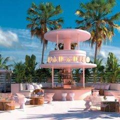 Отель Apartamentos Blue Star пляж