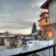 Отель Villas & SPA at Pamporovo Village Пампорово балкон