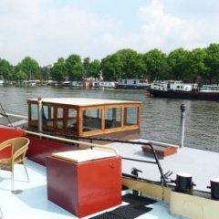 Отель Hotelboat Ideaal Нидерланды, Амстердам - отзывы, цены и фото номеров - забронировать отель Hotelboat Ideaal онлайн приотельная территория