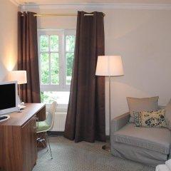 Отель Villa Am Schlosspark Мюнхен комната для гостей фото 2