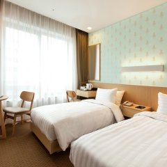Отель Loisir Hotel Seoul Myeongdong Южная Корея, Сеул - 3 отзыва об отеле, цены и фото номеров - забронировать отель Loisir Hotel Seoul Myeongdong онлайн комната для гостей фото 2