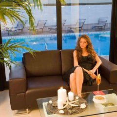 Отель Ferretti Beach Resort Римини бассейн фото 3