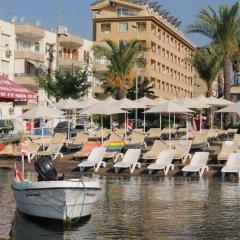 Mert Seaside Hotel Турция, Мармарис - отзывы, цены и фото номеров - забронировать отель Mert Seaside Hotel - All Inclusive онлайн пляж фото 2