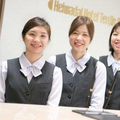 Отель Heiwadai Hotel Tenjin Япония, Фукуока - отзывы, цены и фото номеров - забронировать отель Heiwadai Hotel Tenjin онлайн интерьер отеля фото 2