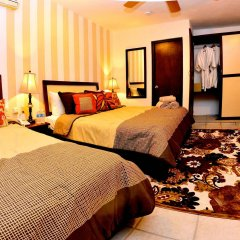 Отель Posada Mariposa Boutique Плая-дель-Кармен комната для гостей фото 4