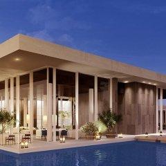 Отель The Oberoi Beach Resort Al Zorah ОАЭ, Аджман - 1 отзыв об отеле, цены и фото номеров - забронировать отель The Oberoi Beach Resort Al Zorah онлайн бассейн фото 3