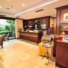 Отель Silom City Бангкок интерьер отеля фото 3