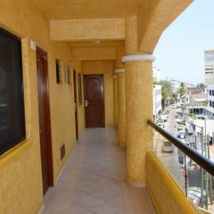 Отель Villas La Lupita балкон