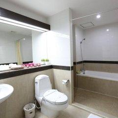 Апартаменты J Town serviced Apartments ванная