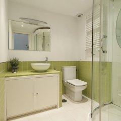 Отель Apartamento Plaza de Cibeles Испания, Мадрид - отзывы, цены и фото номеров - забронировать отель Apartamento Plaza de Cibeles онлайн ванная