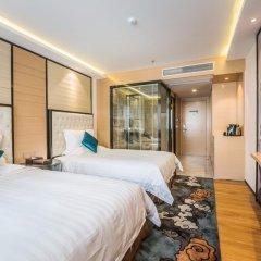 Отель Hoper Hotel (Shenzhen Huanggang Port) Китай, Шэньчжэнь - отзывы, цены и фото номеров - забронировать отель Hoper Hotel (Shenzhen Huanggang Port) онлайн комната для гостей фото 5