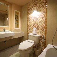 Отель Salil Hotel Sukhumvit - Soi Thonglor 1 Таиланд, Бангкок - отзывы, цены и фото номеров - забронировать отель Salil Hotel Sukhumvit - Soi Thonglor 1 онлайн ванная фото 2