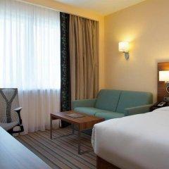 Отель Hilton Garden Inn Ufa Riverside Уфа комната для гостей фото 2