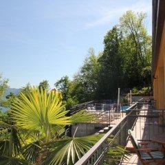 Отель Residenza Ai Ronchi Lago Maggiore Макканьо балкон