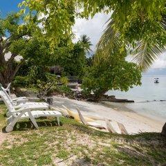 Отель Matira Sunset House N659 DTO-MT Французская Полинезия, Бора-Бора - отзывы, цены и фото номеров - забронировать отель Matira Sunset House N659 DTO-MT онлайн пляж