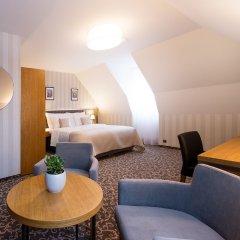 Отель Schwaiger Чехия, Прага - отзывы, цены и фото номеров - забронировать отель Schwaiger онлайн комната для гостей фото 5