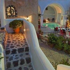 Отель Aigialos Niche Residences & Suites бассейн
