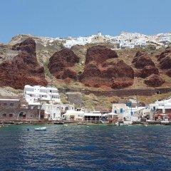 Отель Amoudi Villas Греция, Остров Санторини - отзывы, цены и фото номеров - забронировать отель Amoudi Villas онлайн приотельная территория фото 2