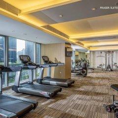 Отель Fraser Suites Guangzhou Китай, Гуанчжоу - отзывы, цены и фото номеров - забронировать отель Fraser Suites Guangzhou онлайн фитнесс-зал