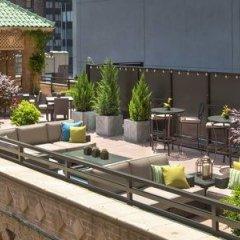 Отель New York Marriott East Side США, Нью-Йорк - отзывы, цены и фото номеров - забронировать отель New York Marriott East Side онлайн балкон