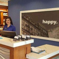 Отель Hampton Inn & Suites Newburgh Stewart Airport Ny Ньюберг интерьер отеля