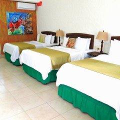 Hotel Camino Maya Ciudad Blanca комната для гостей фото 4