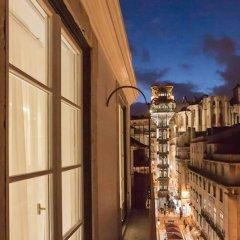 Отель Santa Justa 77 -Lisbon Luxury Apartments Португалия, Лиссабон - отзывы, цены и фото номеров - забронировать отель Santa Justa 77 -Lisbon Luxury Apartments онлайн балкон