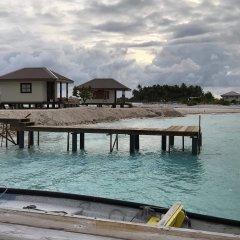 Отель Hakamanu Lodge Французская Полинезия, Тикехау - отзывы, цены и фото номеров - забронировать отель Hakamanu Lodge онлайн пляж