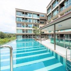 Отель JJ Airport Condotel Таиланд, пляж Май Кхао - отзывы, цены и фото номеров - забронировать отель JJ Airport Condotel онлайн бассейн фото 3