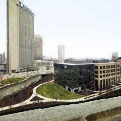 Отель Hilton Columbus Downtown США, Колумбус - отзывы, цены и фото номеров - забронировать отель Hilton Columbus Downtown онлайн балкон