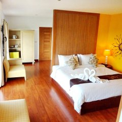 Bussaba Bangkok Suvarnabhumi Airport Hotel комната для гостей фото 2