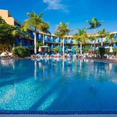 Отель Blue Sea Jandia Luz Apartamentos бассейн