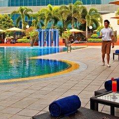 Отель PARKROYAL COLLECTION Marina Bay Сингапур бассейн фото 2