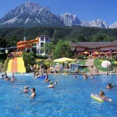 Отель Restaurant Hexenalm Австрия, Зёлль - отзывы, цены и фото номеров - забронировать отель Restaurant Hexenalm онлайн бассейн