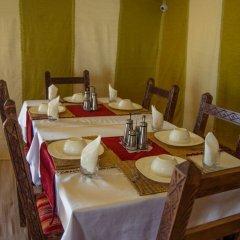Отель Les Pyramides Hotel Марокко, Мерзуга - отзывы, цены и фото номеров - забронировать отель Les Pyramides Hotel онлайн питание фото 2