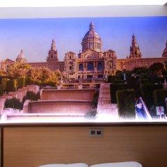 Отель Hostal Flores Барселона гостиничный бар