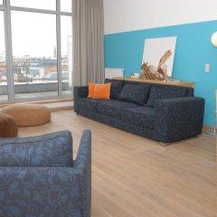 Отель Smartflats Design Antwerp Central Антверпен комната для гостей фото 4