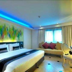Отель Aspira Skyy Sukhumvit 1 Таиланд, Бангкок - отзывы, цены и фото номеров - забронировать отель Aspira Skyy Sukhumvit 1 онлайн комната для гостей фото 4