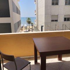 Апартаменты Sunny Bliss Apartments with Seaview Дуррес балкон