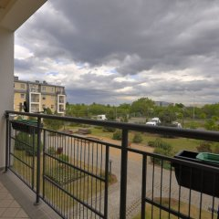 Апартаменты Dom And House Apartments Parkur Sopot Сопот балкон