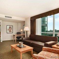 Отель Hilton Vancouver Metrotown Канада, Бурнаби - отзывы, цены и фото номеров - забронировать отель Hilton Vancouver Metrotown онлайн комната для гостей фото 5