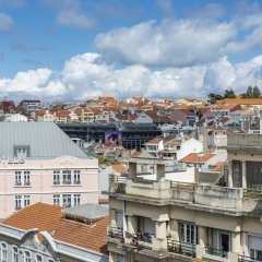 Отель Exe Liberdade Лиссабон балкон
